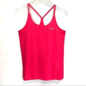Nike Dri-Fit T-Strap Tank Top Size Medium
